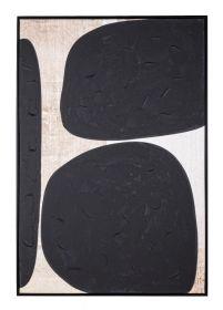 Tablou Black Shapes 82x122