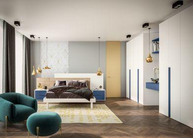 Mobilier dormitor Velvet