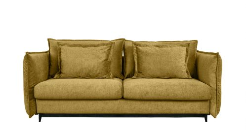 Canapea extensibila 3 locuri Eva Kingston Mustard