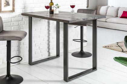 Masa de bar Iron Craft Mango Grey 120x80