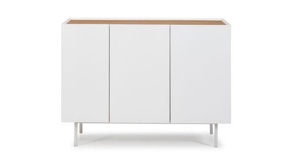 Comoda Arista White 110 cm