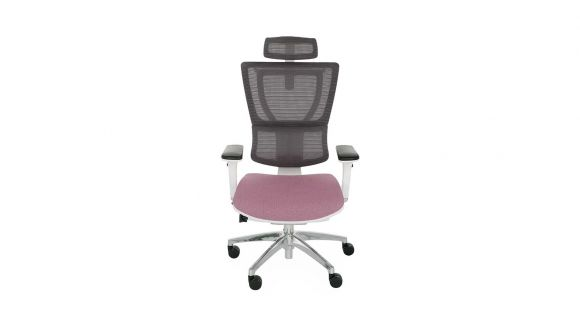 Scaun de birou Ioo White Chrome Cura Purple