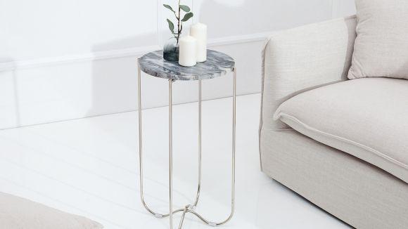 Masuta Noble Grey Marble Silver S